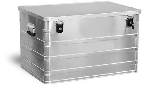 Aluminium Opberg Kist.Aluminium Opbergkisten 1